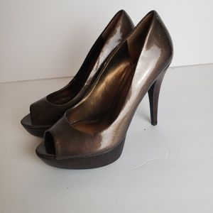 Guess peep toe high heels Women's size 7M
